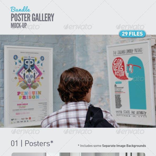 Poster Mockups Bundle