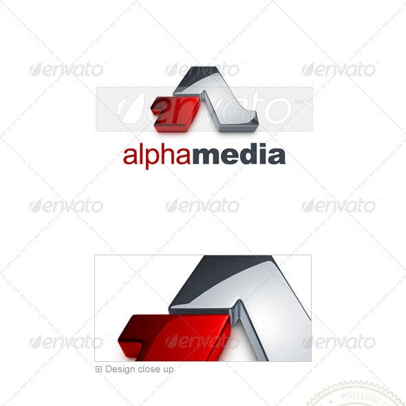 Marketing & Media Logo - 3D-726