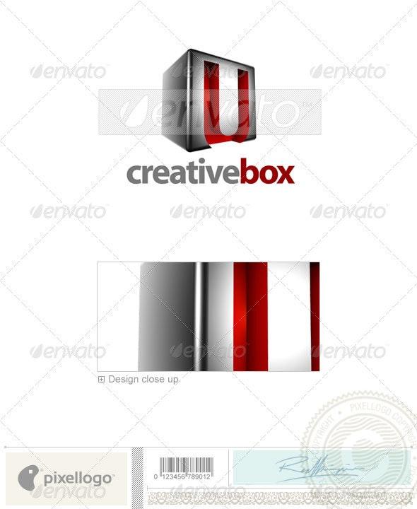 U Logo - 3D-554-U - Letters Logo Templates
