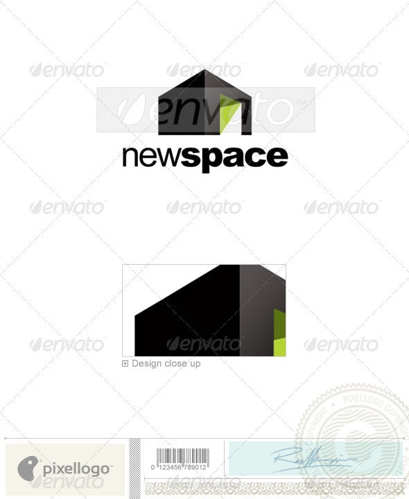 Real Estate Logo - 2221 - Buildings Logo Templates