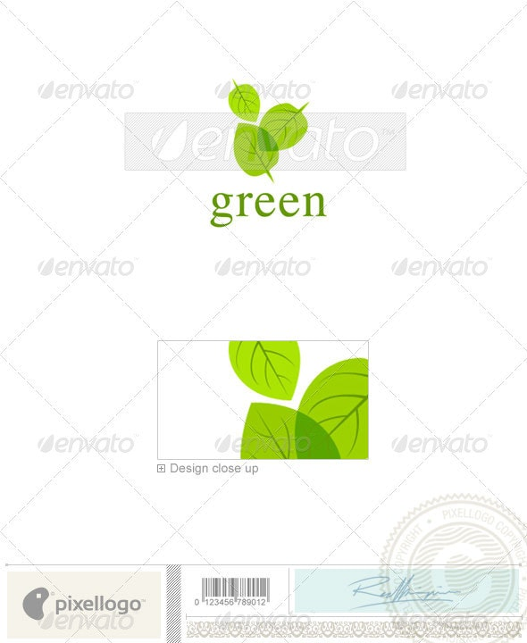 Nature & Animals Logo - 925 - Nature Logo Templates