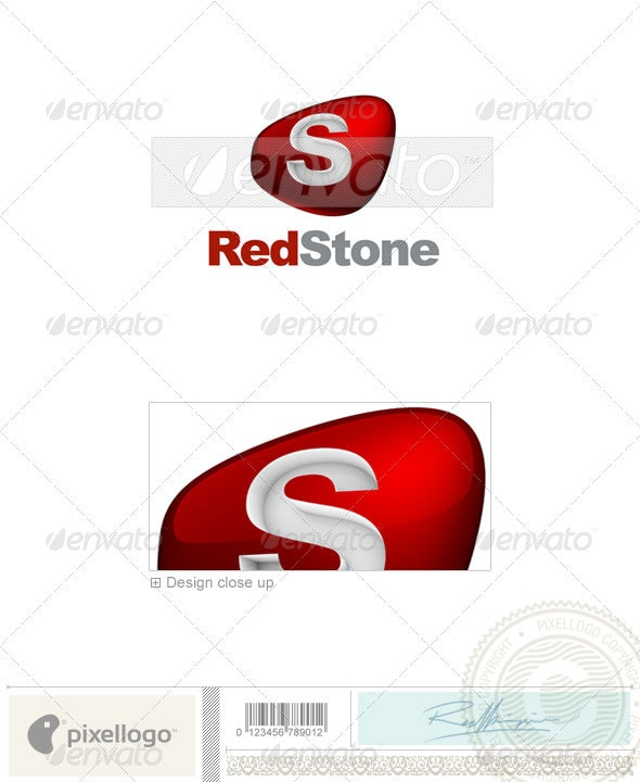 Print & Design Logo - 3D-671 - 3d Abstract