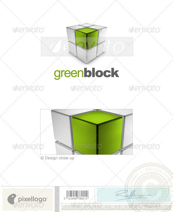 Business & Finance Logo - 3D-637 - 3d Abstract