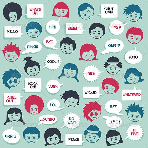 Kids Speak Background