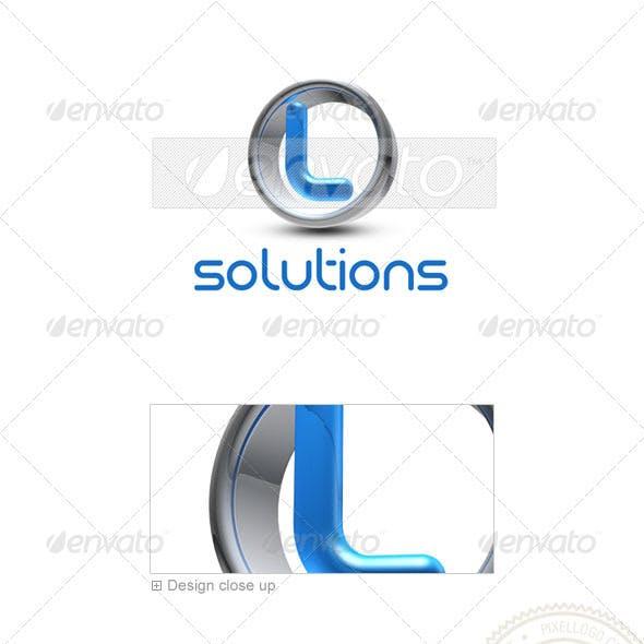 L Logo - 3D-288-L
