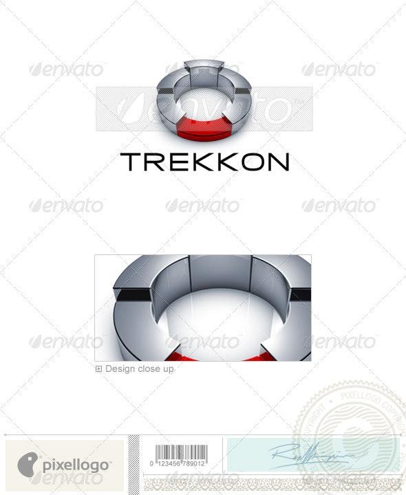 Technology Logo - 3D-674 - 3d Abstract