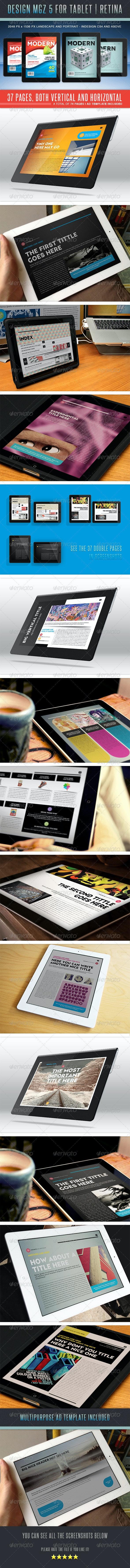 Design MGZ 5 - Digital Magazines ePublishing
