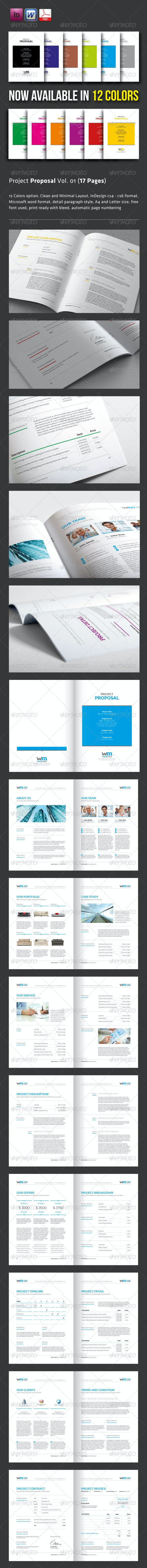 Proposal Template Vol. 01 (17 Pages) - Proposals & Invoices Stationery