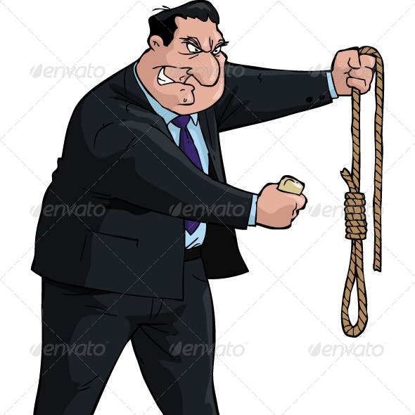 Man with Noose