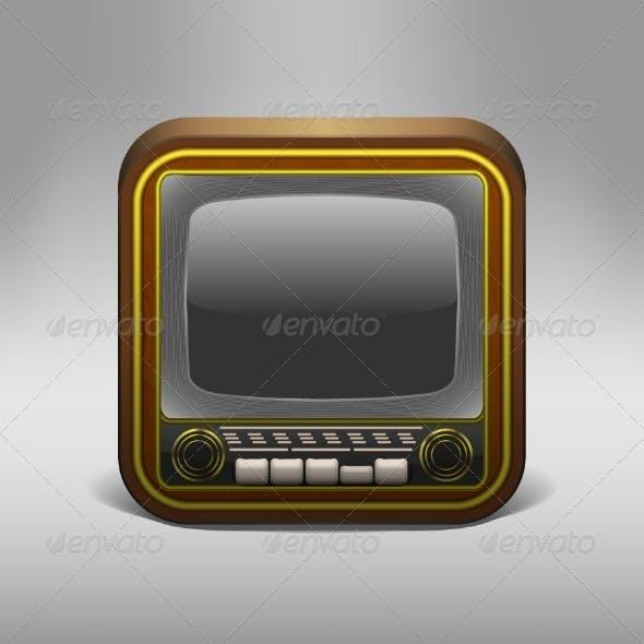 Retro TV App Icon