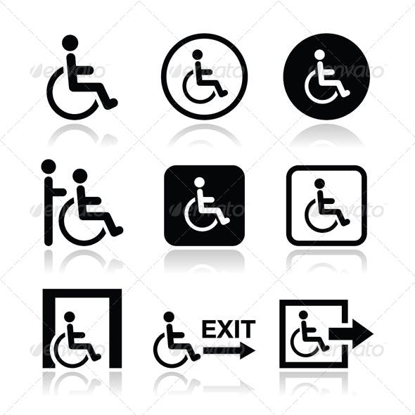Handicap Icons