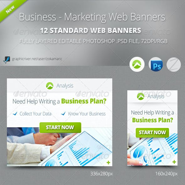 Business - Marketing Web Banners