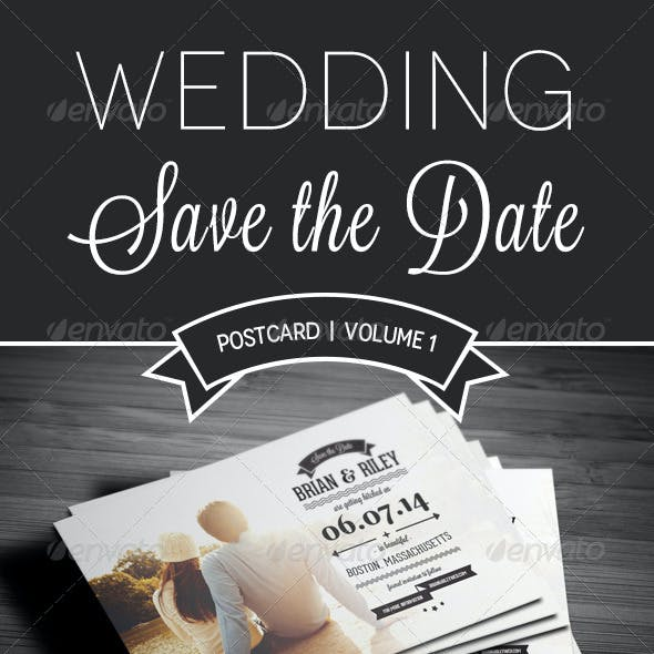 Save The Date Postcard | Volume 1