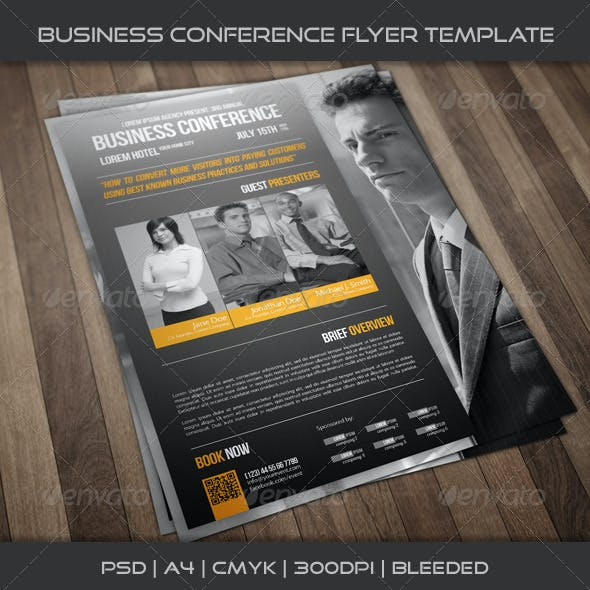 Business Conference Flyer Template 07