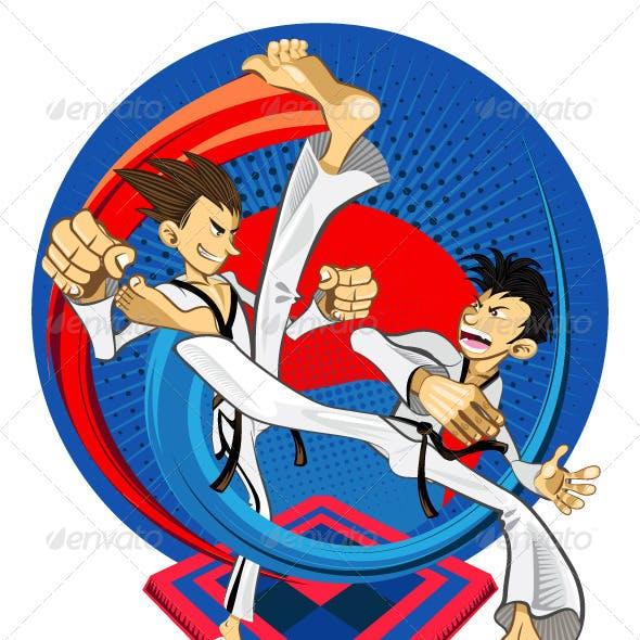 Tae Kwon Do Korean Martial Art