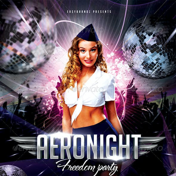 Aeronight Flyer Template
