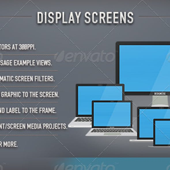 Display Screens (Flat)