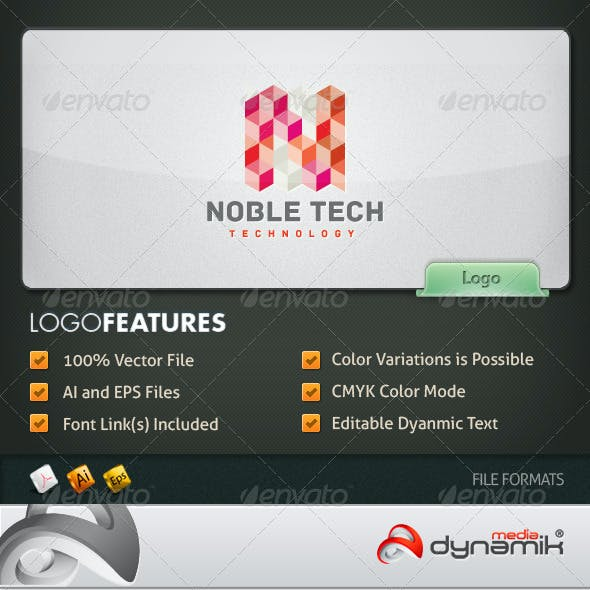 Noble Tech - Logo Template