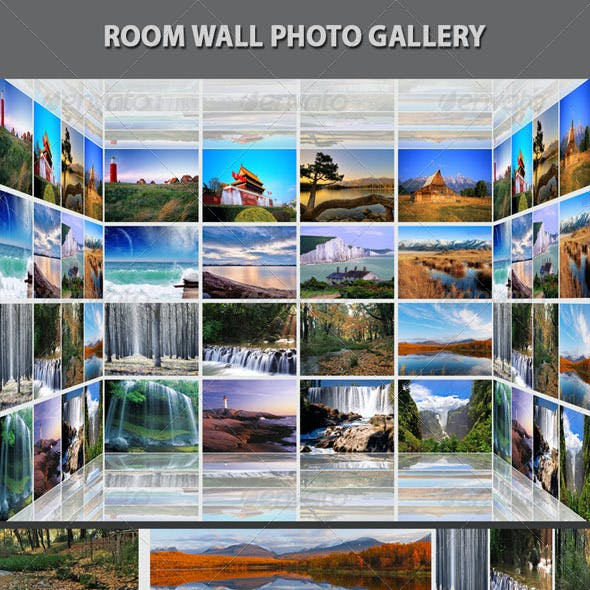 Room Wall Photo Gallery