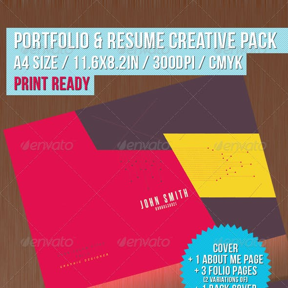 Portfolio & Resume Creative Pack
