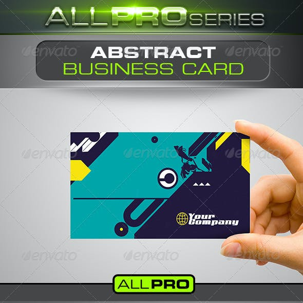 Download Abstract Business Card