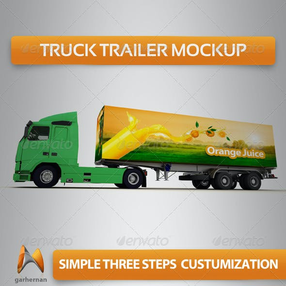 Truck Trailer Mock-Up