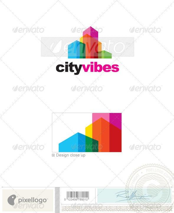 Real Estate Logo - 2257 - Buildings Logo Templates