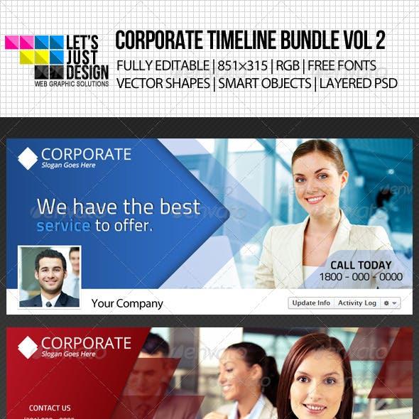 Corporate Facebook Timeline Cover Bundle Vol 2