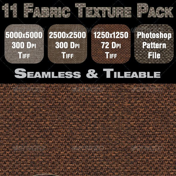 11 Fabric Texture Pack