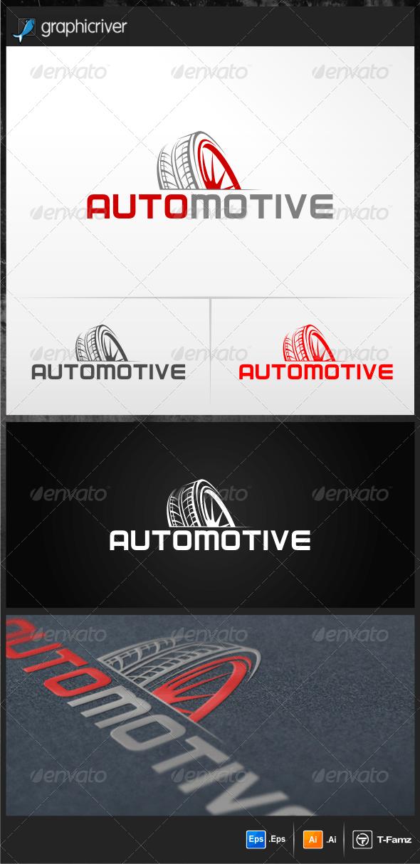 Automotive - Objects Logo Templates