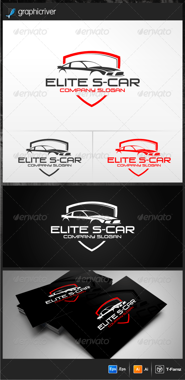 Elite S-Car Logo Templates - Objects Logo Templates