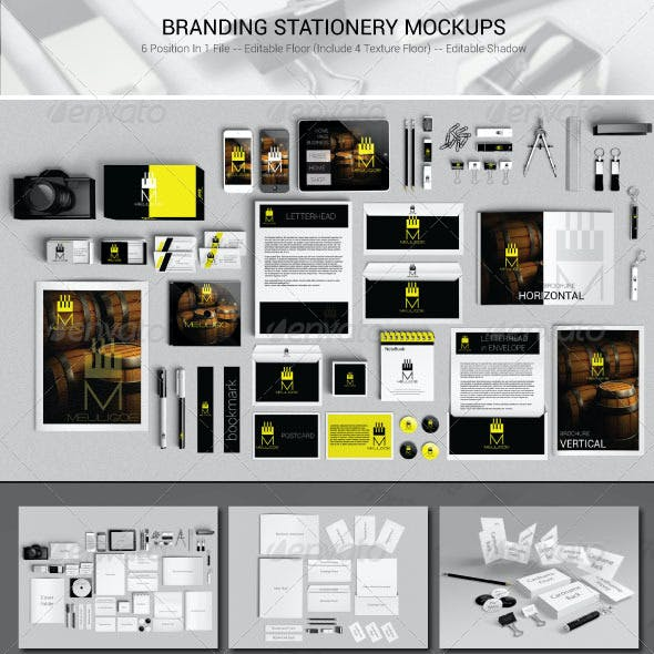 Branding Stationery Mockups