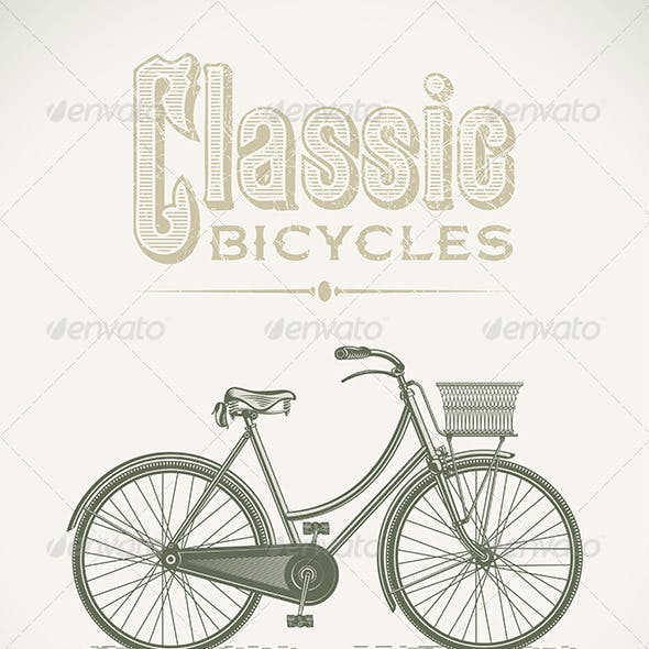 Classic Lady's Bicycle
