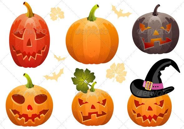 Collect Pumpkin for Halloween - Halloween Seasons/Holidays