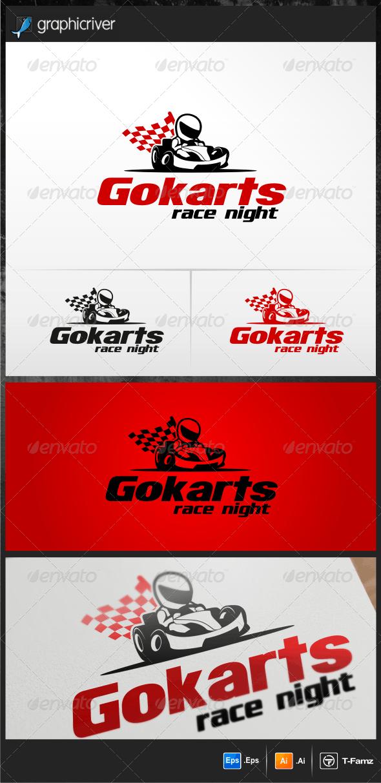Gokarts Logo Templates - Objects Logo Templates