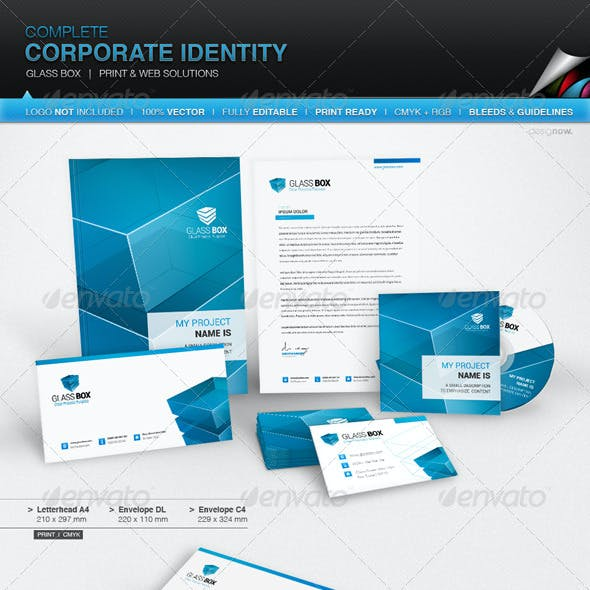 Corporate Identity - Glass Box