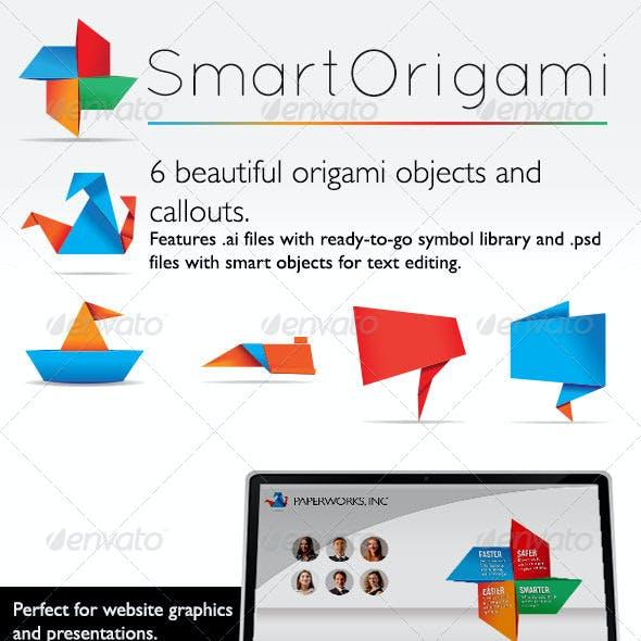 Smart Origami Symbols