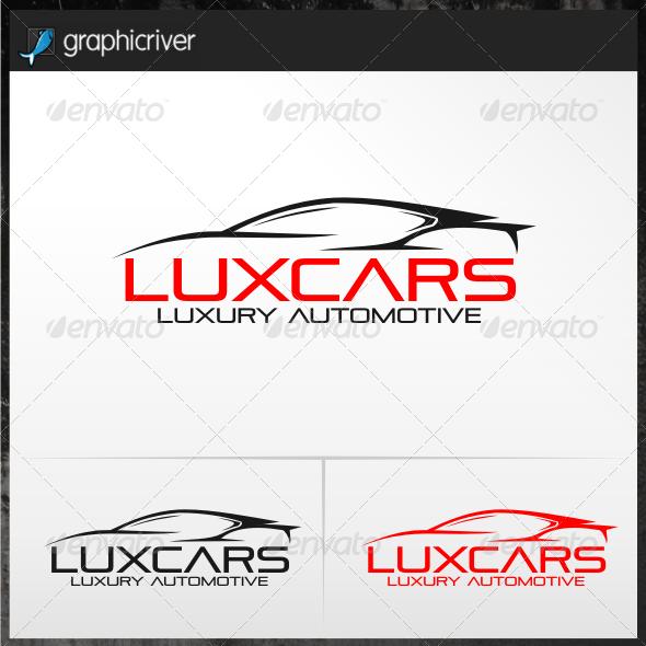 Luxcars Automotive Logo Templates