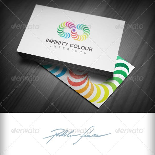 Infinity Logo - Endless Colour Logo - Colour Wheel