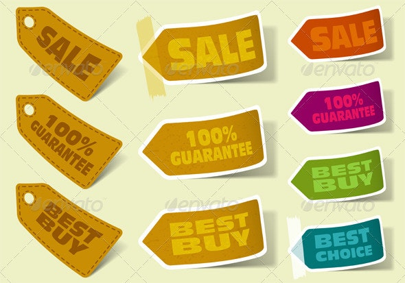 Collect Sticker - Retail Commercial / Shopping