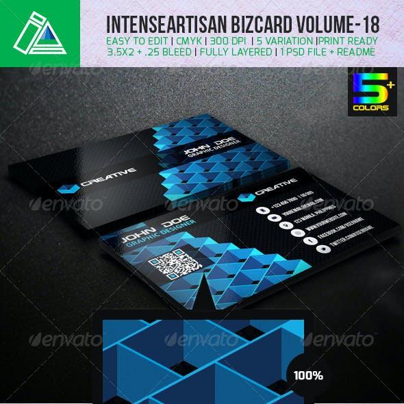 IntenseArtisan Creative Business Card Vol-18
