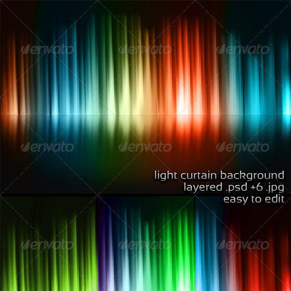 Light Curtain Background