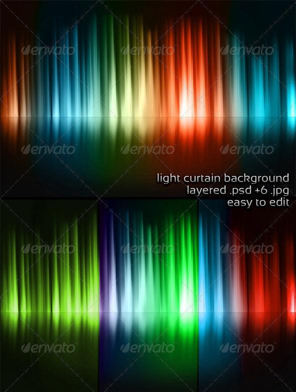 Light Curtain Background - 3D Backgrounds
