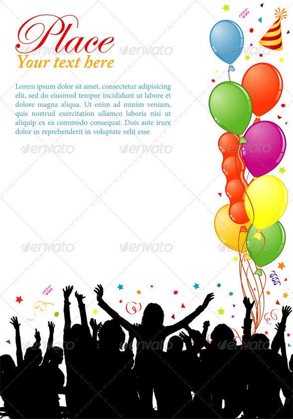 Party frame - Birthdays Seasons/Holidays