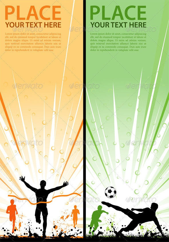 Collect sport flyer - Sports/Activity Conceptual