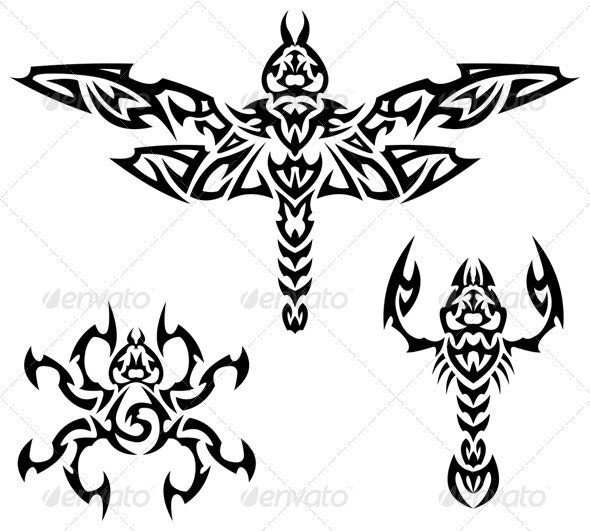 Tattoo Insects - Miscellaneous Characters