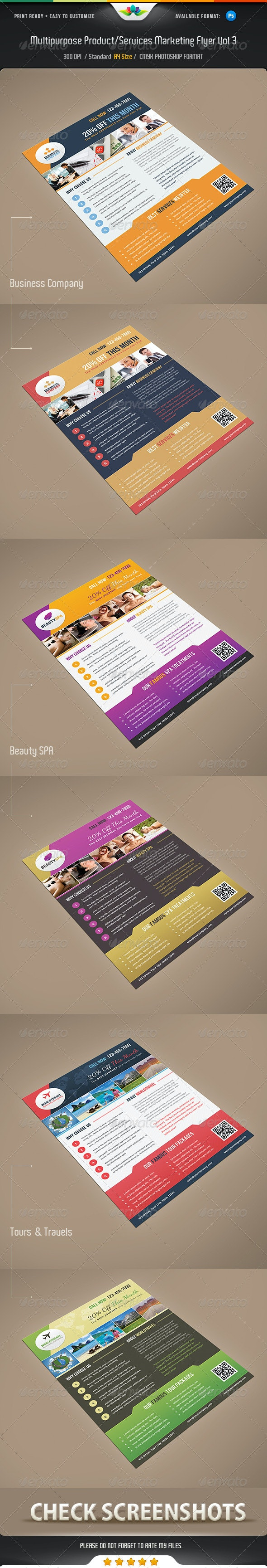 Multipurpose Product / Services Offer Flyer Vol 3 - Corporate Flyers