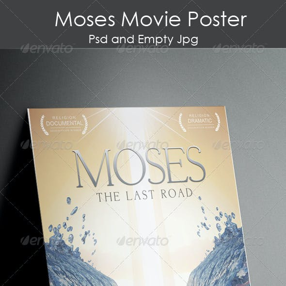 Moses Poster Template
