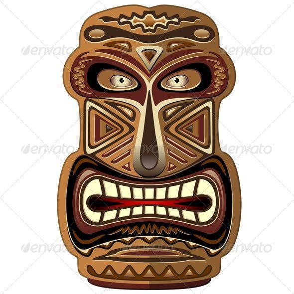 Africa Ethnic Mask Totem