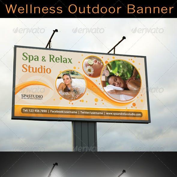 Spa Studio Outdoor Banner